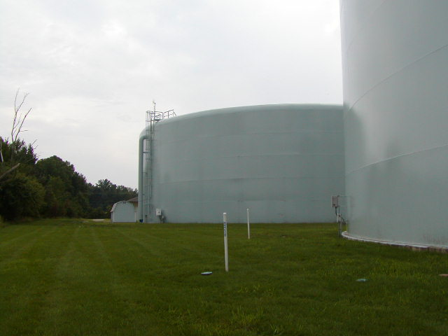 Example of a Standpipe used for water storage tank