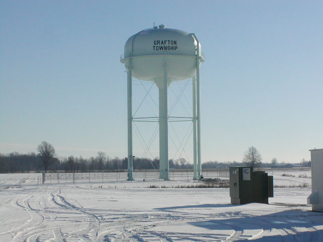 Example of a Elevated Water Storage Tank
