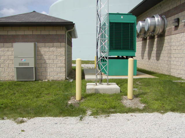 Standby Generator at Booster Station