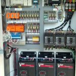 Industrial Control panel with VFDs